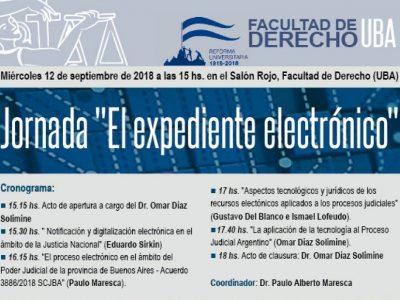 """JORNADA """"EL EXPEDIENTE ELECTRÓNICO"""""""
