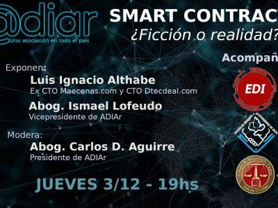 Conferencia: SMART CONTRACTS