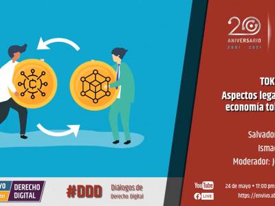 #MNDD2021: TOKENOMICS; Aspectos legales de la economía tokenizada